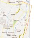 peta jalan ke ciseeng dari kota bogor babakan