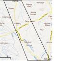 peta jalan ke ciseeng dari kota bogor pasar ciseeng cogreg