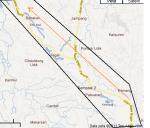 peta jalan ke ciseeng dari kota bogor pasar ciseeng