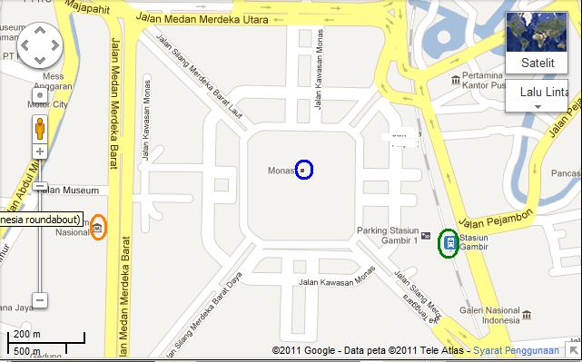 rough ROAD MAP @Jakarta's City Center