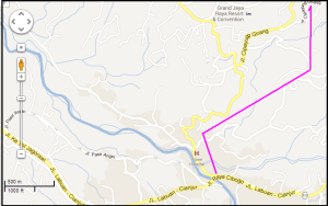 peta jalan CIAWI bojong koneng B