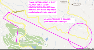 peta jalan CIAWI bojong koneng D