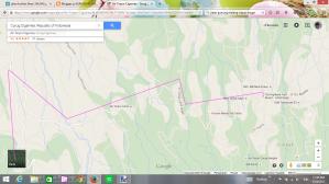 peta jalan highland resort_curug cigamea_curugNANGKA mei 2015viaCURUGluhur