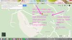 peta jalan highland resort_curug cigamea_curugNANGKA mei 2015viaCURUGluhurE_kawasan Gunung Bunder Bogor