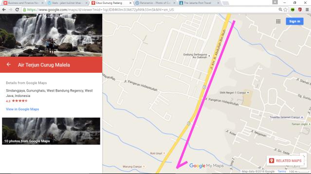 Kota Cianjur k Jl Abdullah b Nuh k Situs Gn Pdg