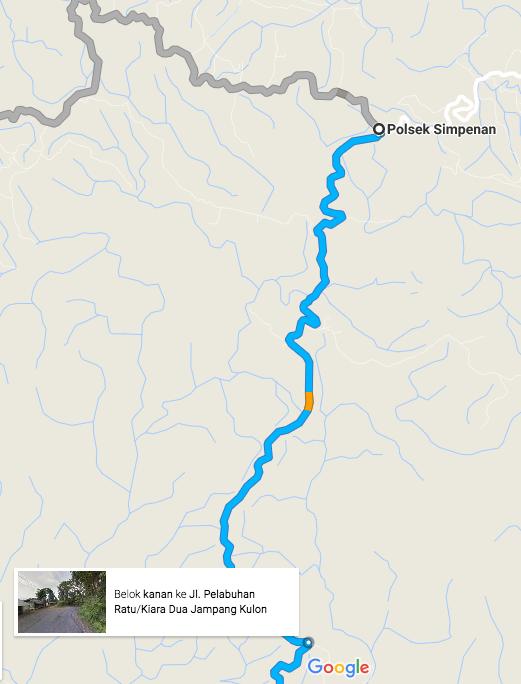peta jalan kasar Polsek Simpenan_Bukit Panenjoan B