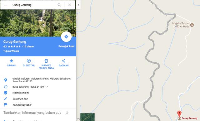 peta jalan kasar Polsek Simpenan_Bukit Panenjoan C